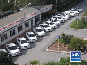 Sân tập lái xe SBV tiêu chuẩn ISO